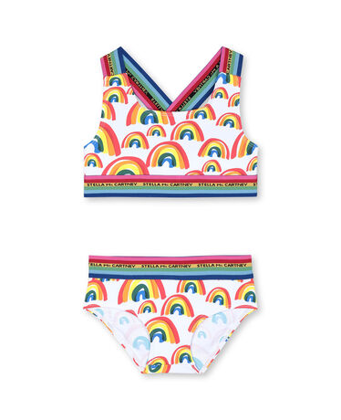 BIG RAINBOWS SWIM BIKINI