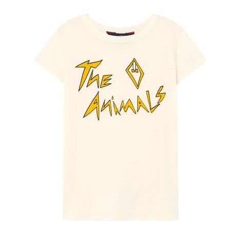 HIPPO KIDS T-SHIRT WHITE THE ANIMALS