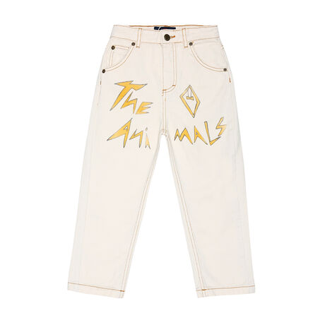 ANT KIDS TROUSERS WHITE THE ANIMALS