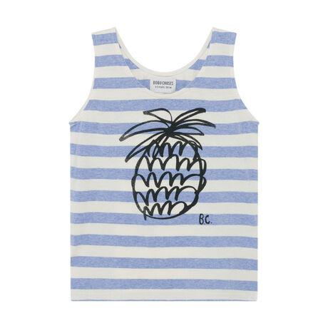 Pineapple Striped Tank Top