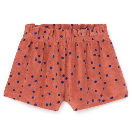 Dots Terry Towel Shorts