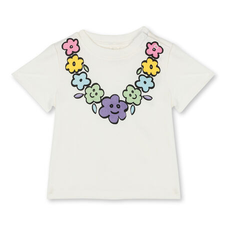 TEE FLORAL NECKLACE