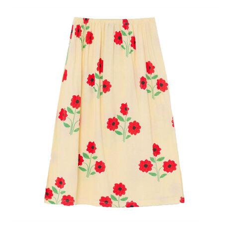 LADYBUGKIDS SKIRT YELLOW FLOWERS