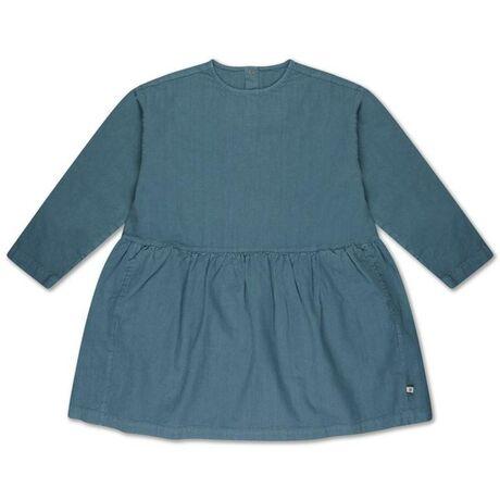 Repose twirl dress, storm blue
