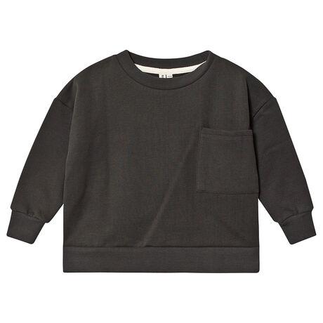 Boxy Sweater Nearly Black