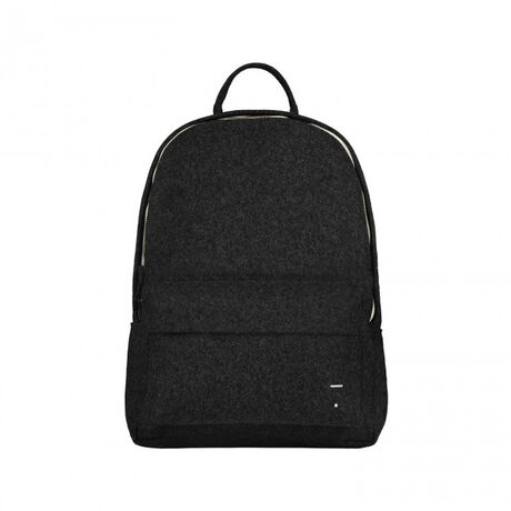 Felt Backpack Nearly Black