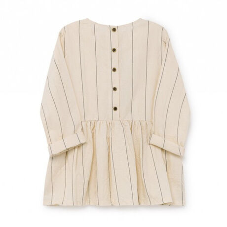 Thin-Striped Smock Top