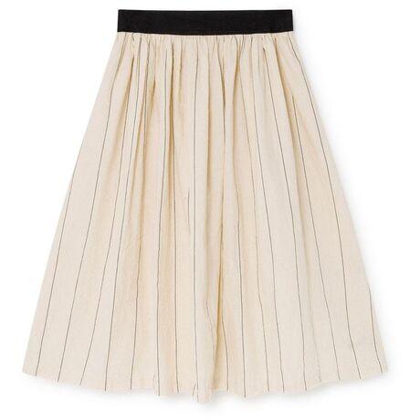 Thin-Striped Skirt