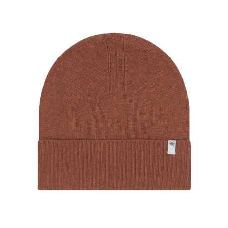 Knitted hat stone brown