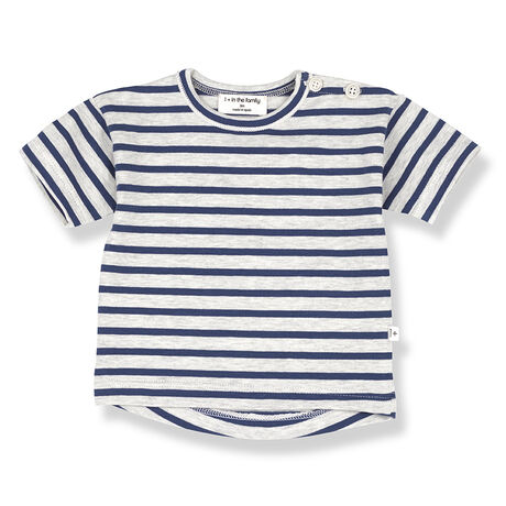 VENCE s.sleeve t-shirt azzurro