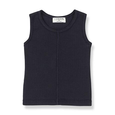 LEA sleeveless top blue