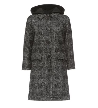Marthe Coat Big Check