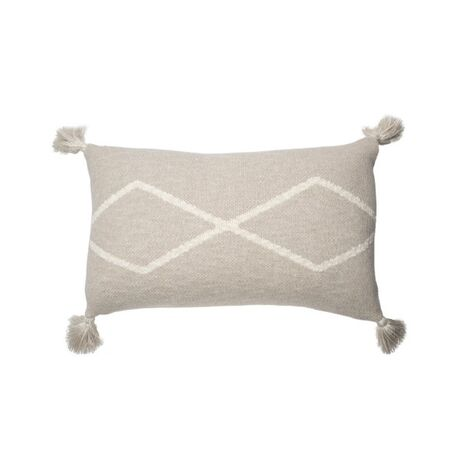 Poduszka Knitted cushion Oasis Soft Linen