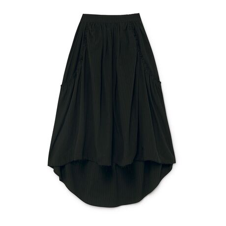 Crushed Cotton Skirt
