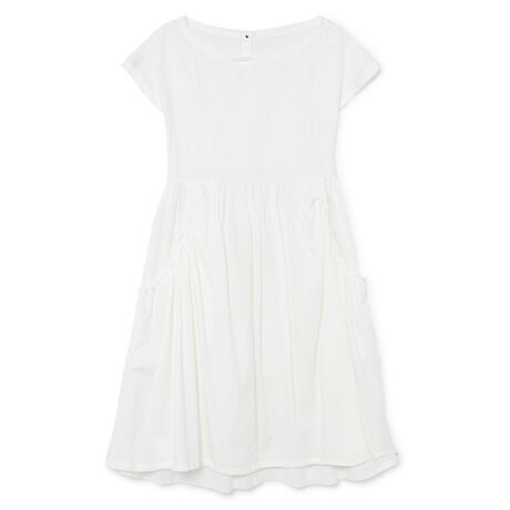 Crushed Cotton Dress