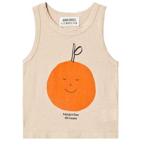 Tangerine Dreams Linen