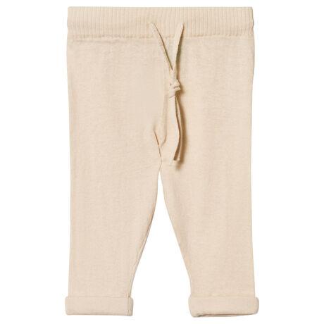 Baby Straight Pants ecru