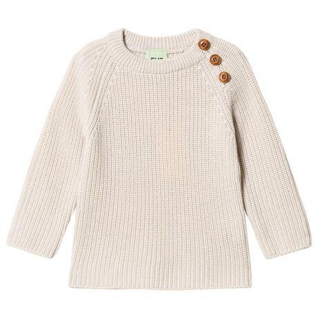 Rib Sweater ecru