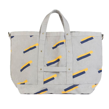 BIG CANVAS BAG GREY