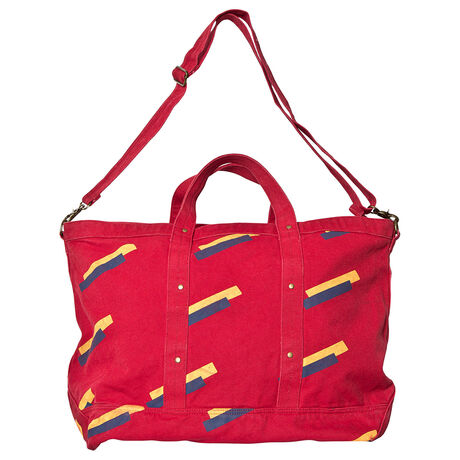 BIG CANVAS BAG RED APPLE