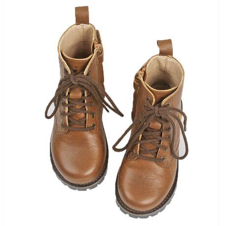 Lace-up Boot Cognac