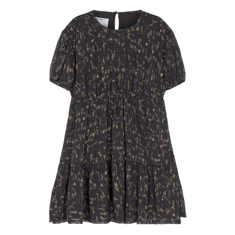 G Kiely Dress Black/camel print