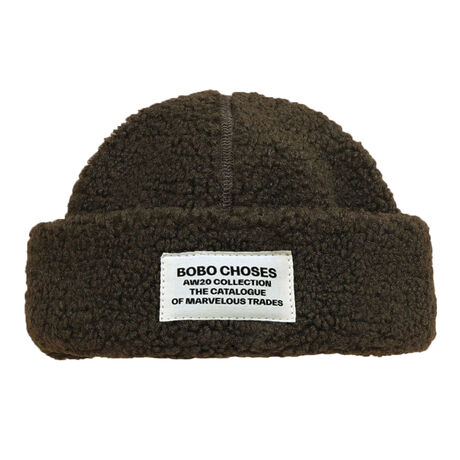 Patch Sheepskin Hat