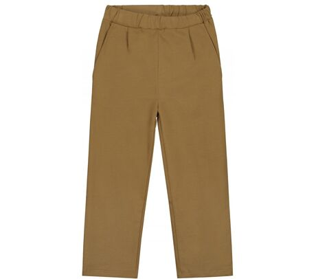 Relaxed Pleated Trousers Peanut
