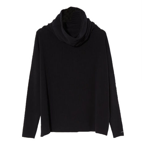 LOOSE TERTLENECK JP BLACK