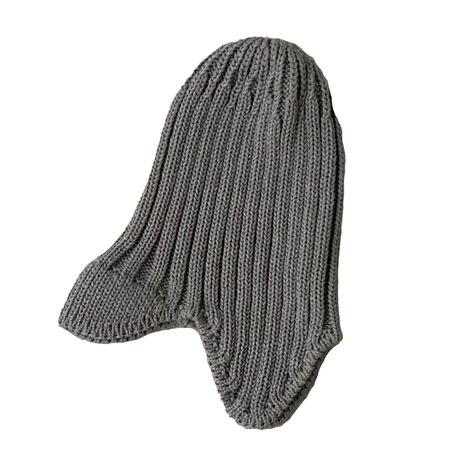 Knit flight cap