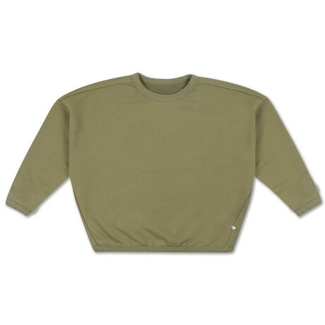 Repose ams 9. boxy sweater, loden green