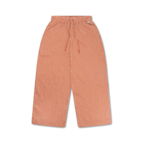 Easy pants copper check