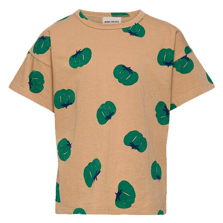 Tomatoes All Over Short Sleeve T-Shirt