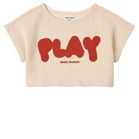 Play Cropped Sweatshirt