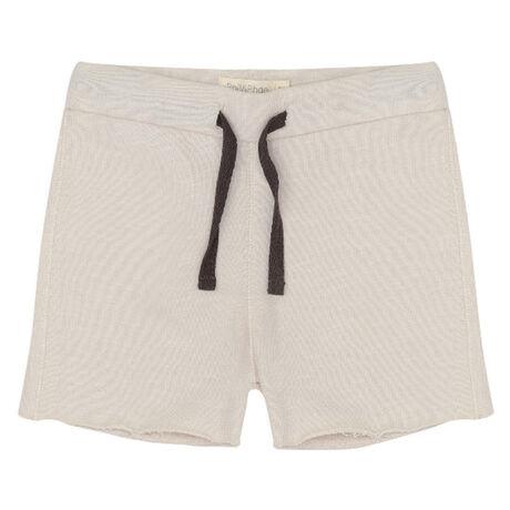Raw-edged sweat shorts