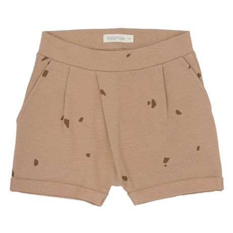 Fold-over shorts stones