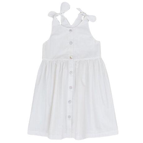 Paros Dress White
