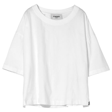 SC 002 White - Cropped T Shirt