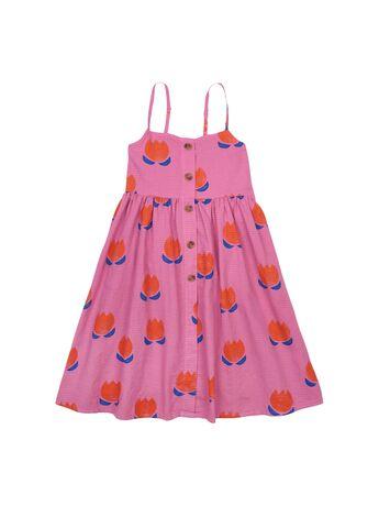 Chocolate Flowers Dress