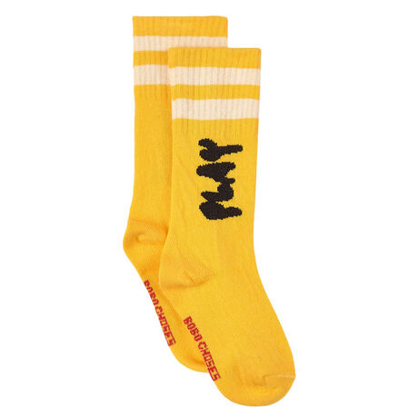 Play Yellow Long Socks