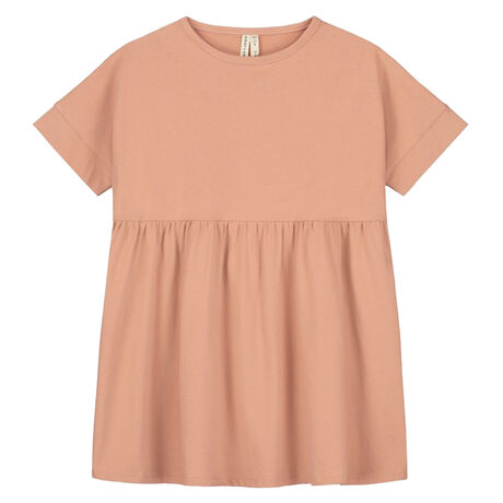 Loose Fit Dress Rustic Clay
