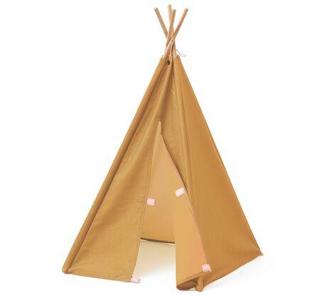 Tipi tent mini yellow