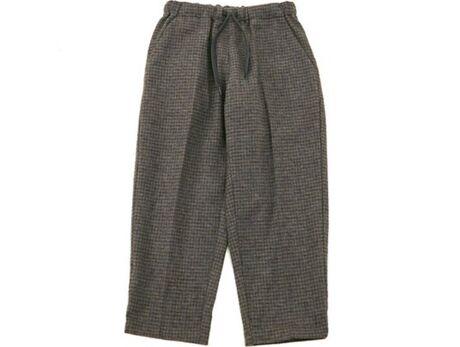 cotton tweed pants brown