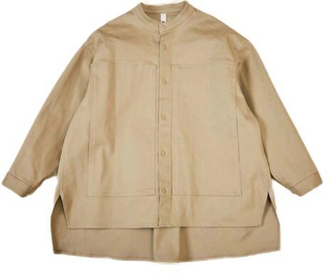 ratine stretch work shirts beige