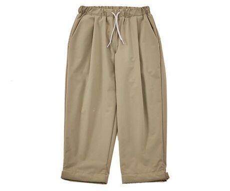 stretch warm pants khaki