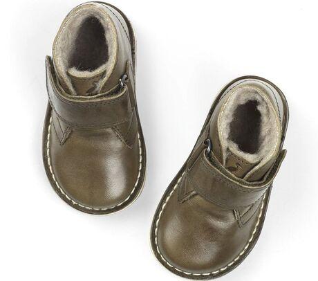 Desert Winter Boot Velcro Olive