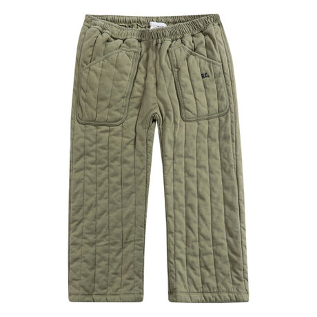 B.C quilted jogging pants