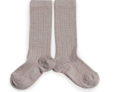 Adèle - Merino Wool Socks - Jour de Pluie