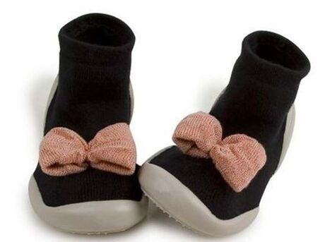 Slippers - Rosewood Bow