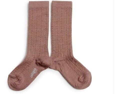 Adèle - Merino Wool Socks - Praline de Lyon
